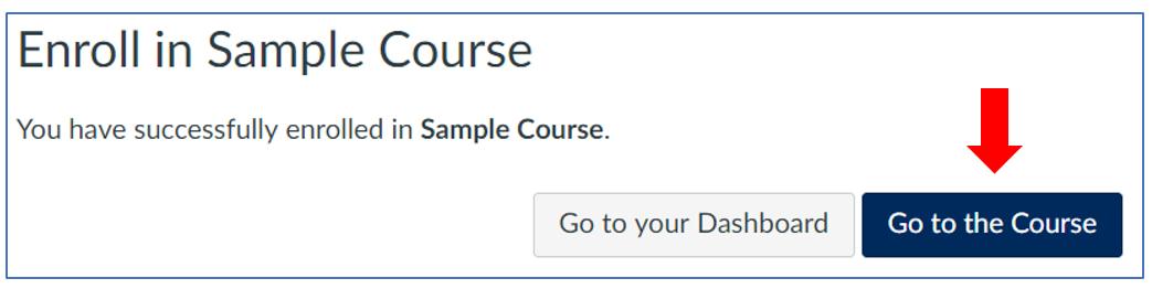 Quercus: go to the course